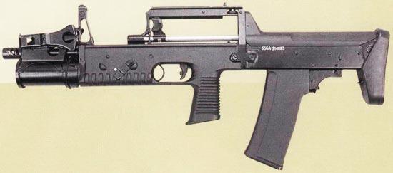 А-91 вариант под патрон 5,56х45 мм НАТО