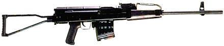 7,62-мм автоматическая винтовка Барышева АВБ-7,62