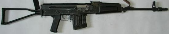 LCZ B-20 вариант автоматической винтовки Барышева АВБ-7,62 под патрон 7,62x51 NATO, выпущенный в Чехии