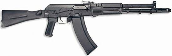 АК-107 с магазином на 60 патронов