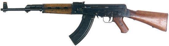 первый опытный автомат Калашникова АК-46