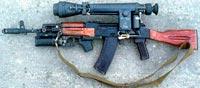Автомат Калашникова АК-74 / АКС-74 / АК-74Н / АКС-74Н