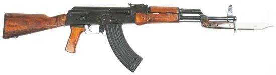 автомат Калашникова модернизированный АКМ раннего выпуска