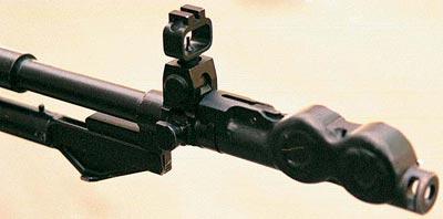 тормоз-компенсатор и мушка АН-94