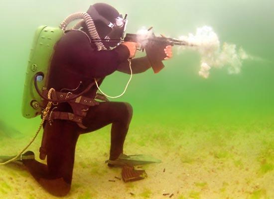 АПС при использовании под водой