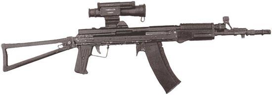 АСМ-ДТ «Морской Лев» с магазином для стрельбы на суше