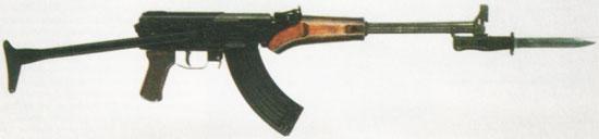 ТКБ-517 «десантный вариант» с металлическим складным прикладом
