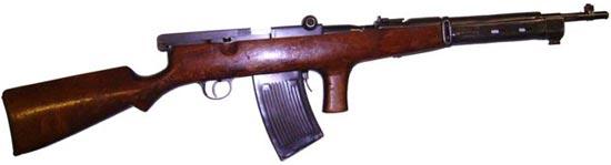 автомат Федорова под патрон 6,5х50 мм