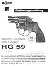 Сигнальный револьвер RG 59 Le Petit. Паспорт