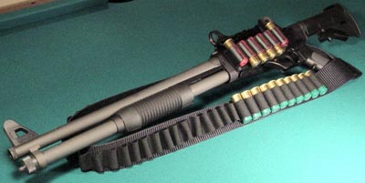 FN TPS с коллиматорным прицелом