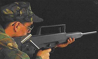 HK CAWS со стволом 685 мм.