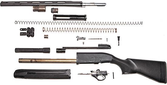 Основные элементы Beretta 1301 Comp