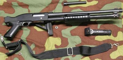Beretta RS202 M1 (приклад сложен)