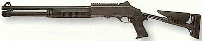 Benelli M4 Super 90 приклад разложен