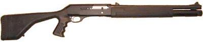 Beretta 1201FP (полицейский вариант) с пластиковой ложей и пистолетной рукояткой