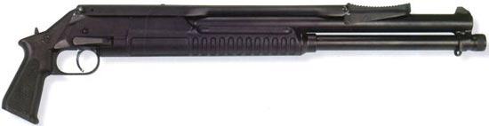 РМБ-93 со сложенным прикладом