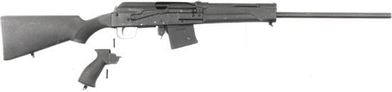 Сайга 20 со сменными прикладом и пистолетной рукояткой