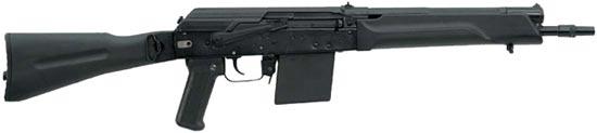 Сайга 410К со складным прикладом