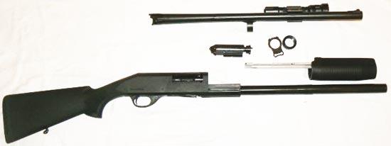 Stoeger SP 312 неполная разборка