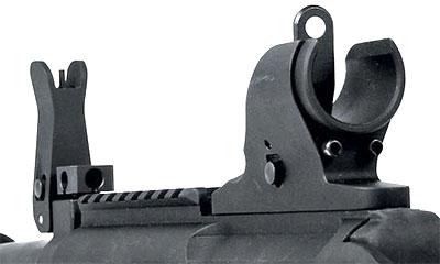 Штатные складные прицельные приспособления M26 MASS