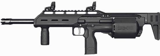 SIX12 в качестве самостоятельного оружия