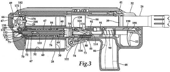 Устройство механизмов SIX12 (из патента)