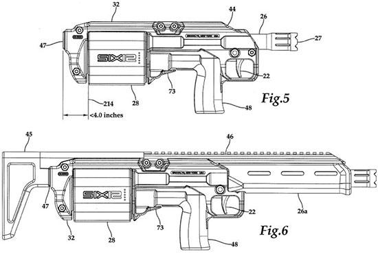 варианты SIX12 (из патента)