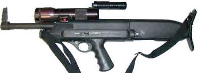 HS-10B с фонарем и поднятой рукояткой для переноски