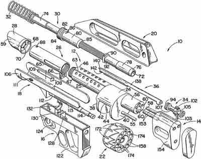 Pancor Jackhammer устройство ружья