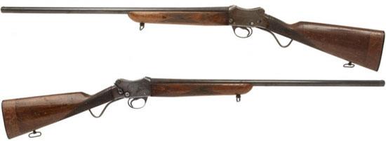 Ранний вариант конструкции дробовика Гринера, который лег в основу ружья Greener police gun