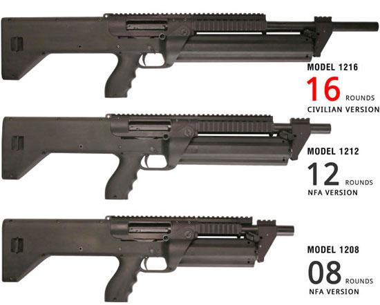 сверху вниз SRM Model 1216, Model 1212, Model 1208
