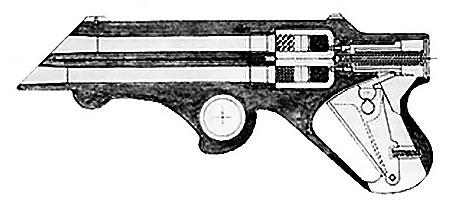 Устройство прототипа Liberator Mark I