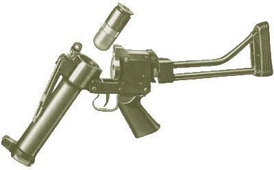 FN 40 при перезаряжании