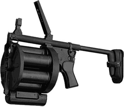 Arsenal «Lavina» / Avalanche Grenade Launcher