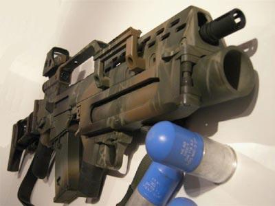 AG36 установленный на винтовке HK G36C