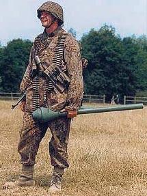 Немецкий солдат с Faustpatrone