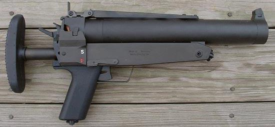 HK69 прицел для стрельбы на ближние дистанции в боевом положении