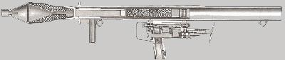 Panzerfaust 44 в разрезе