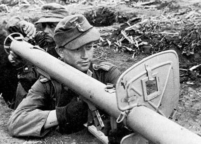 Расчет Panzerschreck