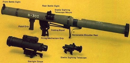 Израильский противотанковый гранатомет B-300