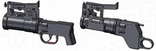 QLG-10 (слева) и QLG-10A (справа)