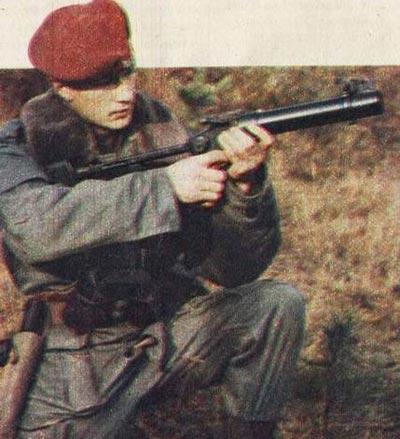 Wz. 1983 Pallad D при использовании
