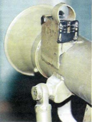 мушка гранатомета СПГ-82 / СГ-82