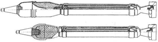 граната ПГ-82 (сверху) и ОГ-82 (снизу)