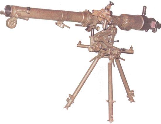 безоткатное орудие Б-10