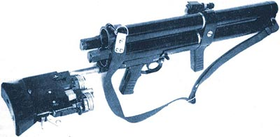 ДП-64 при перезаряжании