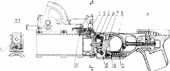 ГП-30 устройство гранатомета