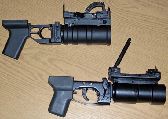 ГП-30 (сверху) и ГП-30М (снизу)
