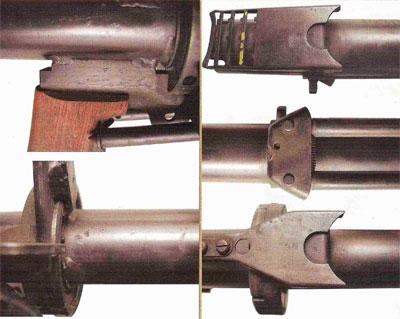 Детали экспериментального гранатомета второго варианта образца 1952 года
