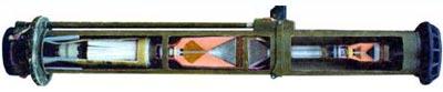 РПГ-27 с гранатой ПГ-27 в разрезе